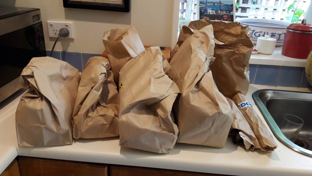 Countdown Paper Bags